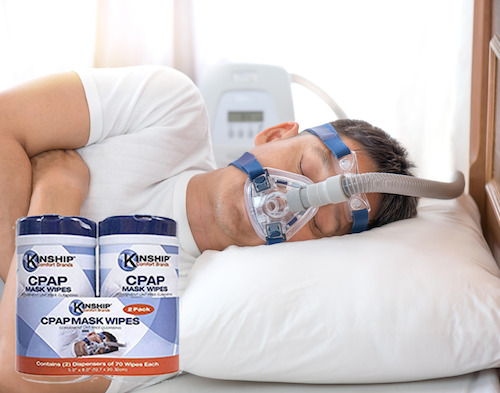CPAP Wipes from Kinship Comfort Brands