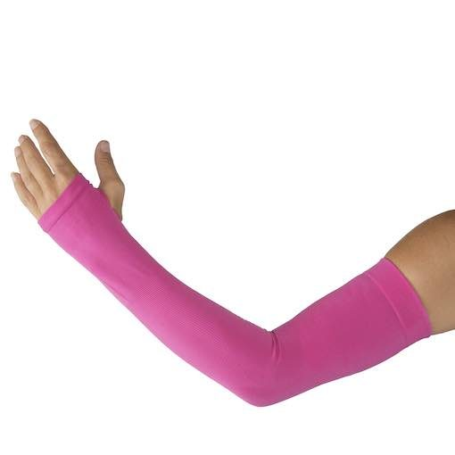 Sun Protection Sleeves - Bright Pink