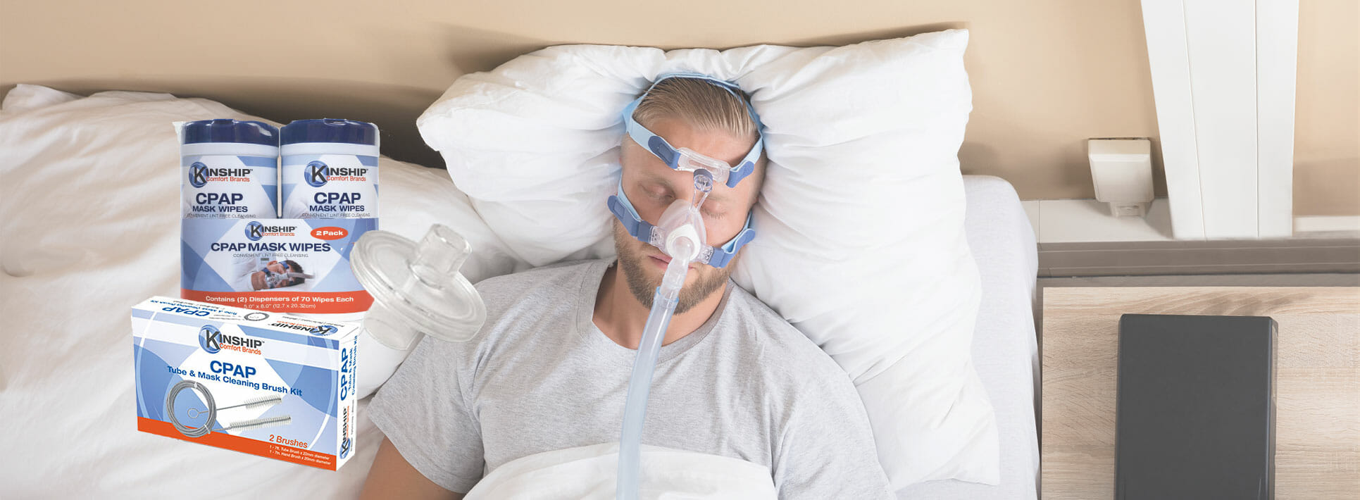 CPAP Wipes, CPAP Brushes, and CPAP Filters
