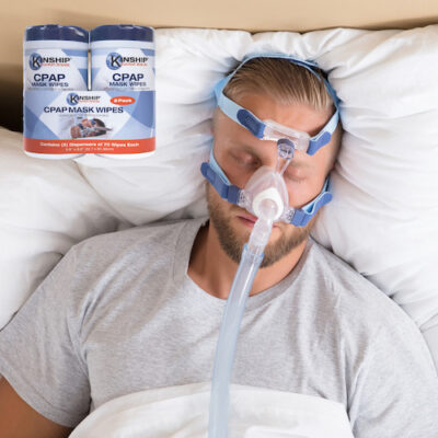 CPAP Mask Wipes keep CPAP machinery clean
