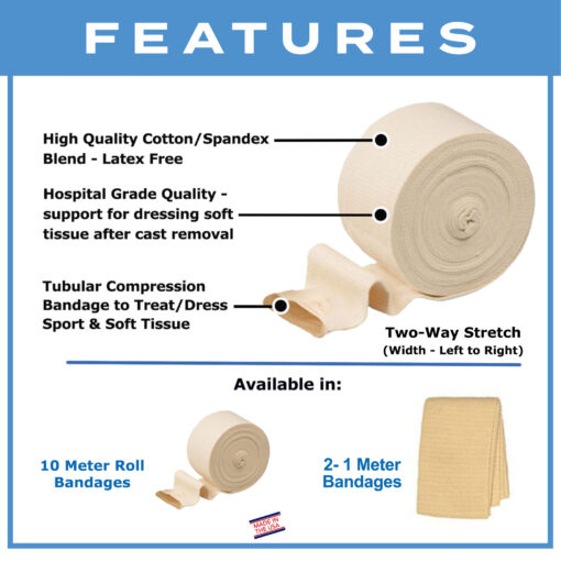 Kin Grip Tubular Support Bandages
