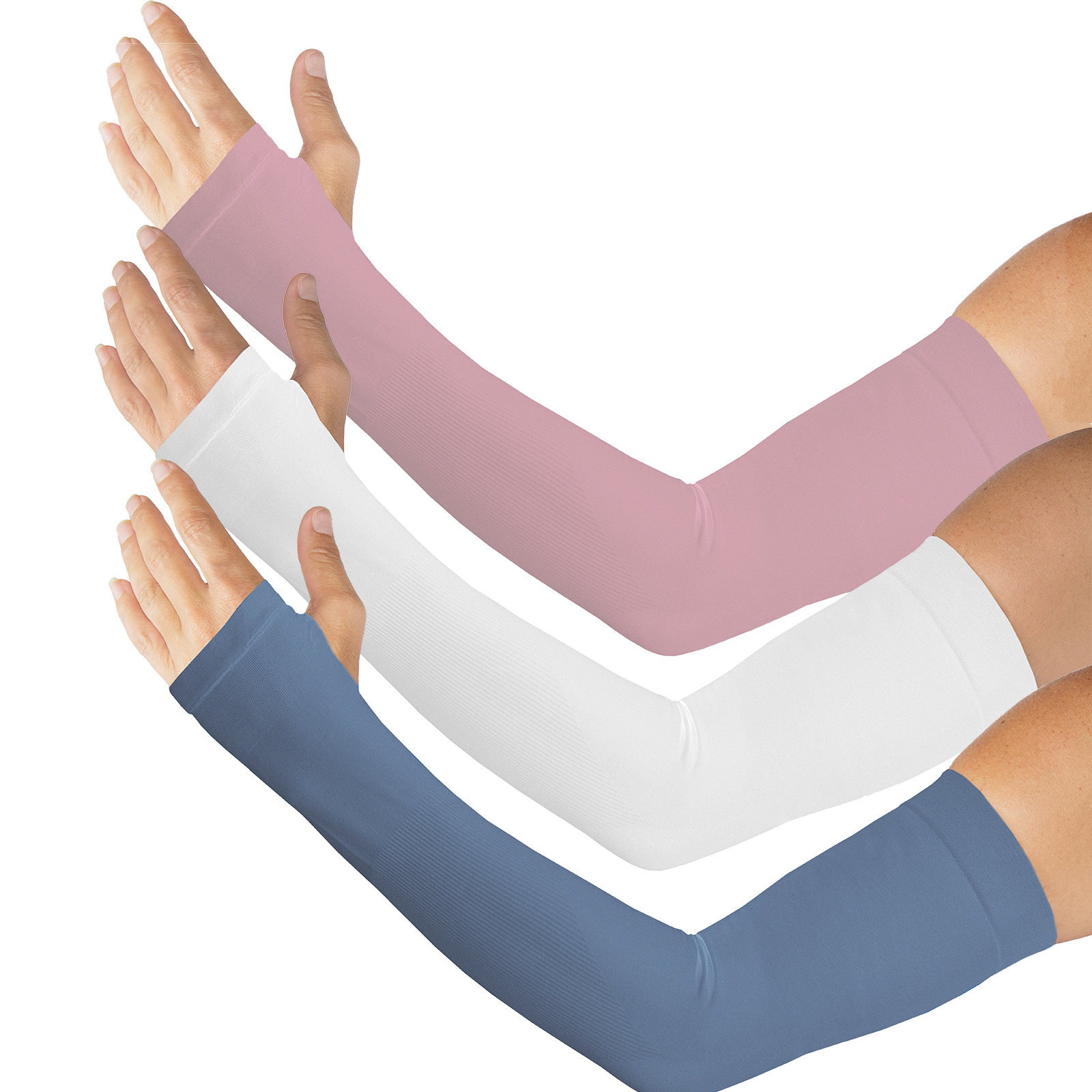 Sun Protection Arm & Hand Sleeve for skin from Kinship Comfort Brands