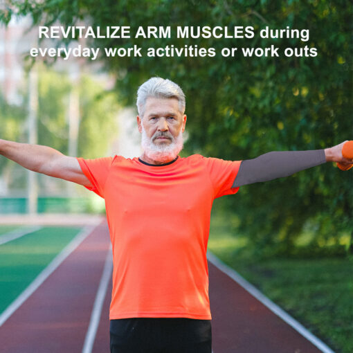 Compression Arm Sleeves to revitalize Arm Muscles
